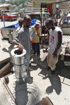 Creating a clean cookstove market in port-au-Prince