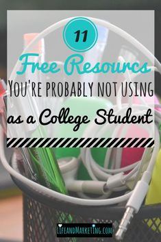 Are you heading off to college? You should take advantage of the free resources that most college students don't use. These free college resources can value up to thousands of dollars, but you can receive them for free. College Life Hacks, College Fun, College Tips, Budgeting For College Students, College Student Discounts, College Board, College Student Budget, College Semester, College Schedule