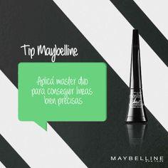 La mejor manera de conseguir líneas precisas en tu delineado #Tips #MakeUp #MNYArgentina