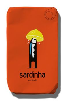 #ABANCADASARDINHA - canned sardines (with lemon) - great Portuguese design #PORTUGAL