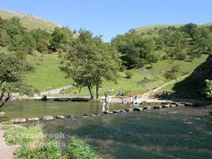 Dovedale stepping stones, Peak District