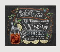 There are many ways to make sweet tea, but there's only one way to drink it. Pull up a chair next to a good friend out in the sunshine, sip slowly and enjoy life's simple pleasures. Display our classi