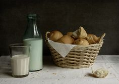 #still #life #photography • photo: Молоко и булки | photographer: Galina RGB | WWW.PHOTODOM.COM