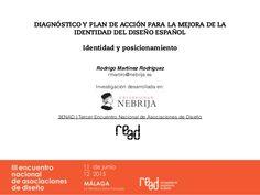 """Rodrigo Martínez Rodríguez nos presentó su estudio sobre la """"Identidad del Diseño Español""""."""