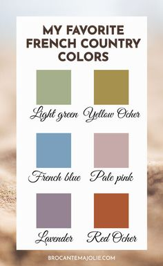 French Country Color Palette : 2021 Beginner's Guide Country Paint Colors, French Country Colors, French Country Interiors, French Colors, Modern French Country, French Country Kitchens, French Country Bedrooms, French Country Living Room, French Country Farmhouse
