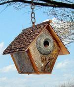 6C Recycled Birdhouses