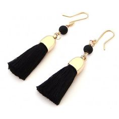 Aretes con Chapa de Oro y Motitas Jewelry For Her, Trendy Jewelry, Cute Jewelry, Handmade Jewelry, Jewelry Making, Jewelry Accessories, Fashion Earrings, Women's Earrings, Silk Thread Earrings