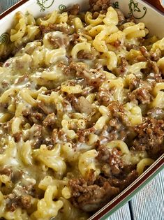 Homemade Hamburger Helper – Delicious recipes to cook with family and friends. Hamburger Dishes, Hamburger Recipes, Ground Beef Recipes, Hamburger Casserole, Cheeseburger Casserole, Chicken Casserole, Bison Recipes, Ground Beef Rice, Ground Beef Dishes