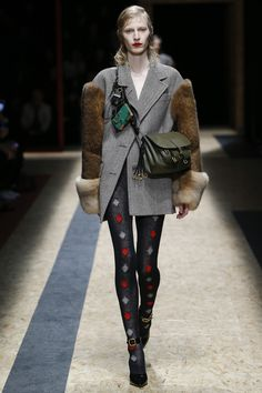 Prada Fall 2016 Ready-to-Wear Fashion Show Fashion Show Review