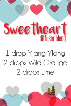 If you are looking for a sweet diffuser blend (that also just might get you in the mood) try diffusing this Sweetheart diffuser blend!  Click the pic to grab your oils!  If you're looking to learn more about essential oils, come join me at www.ARooted.Life/ARootedCommunity #DiffuserBlend #InTheMood #EssentialOils
