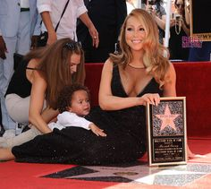 Mariah Carey's Son Was NOT Having It At Her Hollywood Walk Of Fame Ceremony!