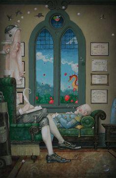 Bubble Therapy by Daniel Merriam