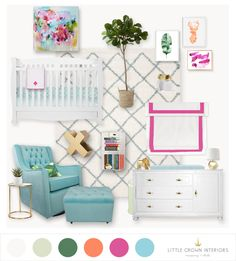 Girl's Nursery E-Des
