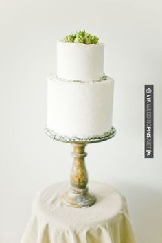 So cool! - succulent wedding cakes // photo by | CHECK OUT MORE GREAT GREEN WEDDING IDEAS AT WEDDINGPINS.NET | #weddings #greenwedding #green #thecolorgreen #events #forweddings #ilovegreen #emerald #spring #bright #pure #love #romance
