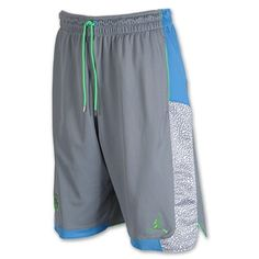 NIke Jordan Mens Spizike Blocked Basketball Shorts Stealthuniversity Blue L *** Read more reviews of the product by visiting the link on the image.