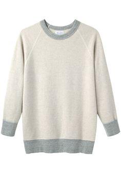 Steven Alan / Raglan Crewneck Sweatshirt | La Garçonne