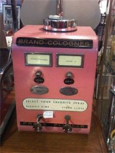 Vintage vending machines