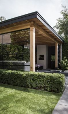 Best Amazing garden offices and rooms images in 2020 Part 8 - amazing garden ideas Outdoor Rooms, Outdoor Gardens, Outdoor Living, Outdoor Decor, Patio Design, Garden Design, House Design, Insulated Garden Room, Garden Office