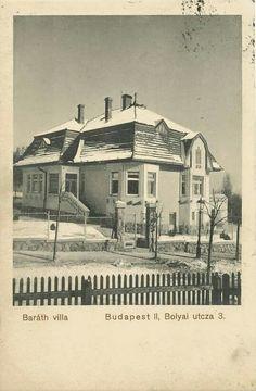 1912. Bólyai utca 3.