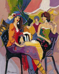 Il mondo di Mary Antony: Le parigine al Café di Isaac Maimon