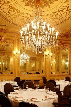 Portugal - Tavares Restaurant, Lisbon  Michelin star Restaurant