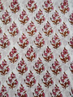 Floral Print Fabric, Floral Prints, Fabric Design, Print Design, Indian Fabric, Fabric Gifts, Traditional Looks, Wood Print, Soft Fabrics