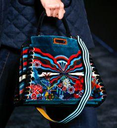 handbags 2016 runway | Fendi Flounces into Fall 2016 with Ruffled Runway Bags - PurseBlog