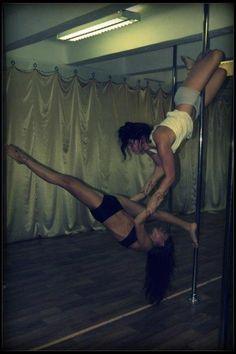 Pole double awesomeness