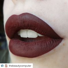 Kisses from Ravenclaw  Absolutely amazing dark red by @lasplashcosmetics.
