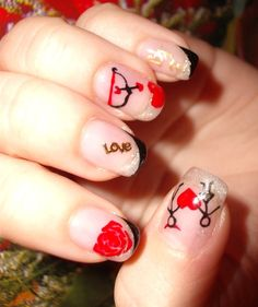 Nail Art Love Design 2014