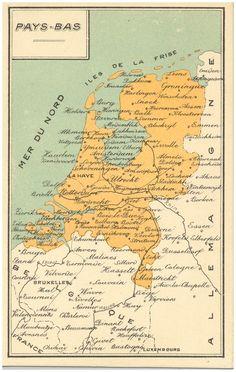 Plattegrond van Nederland Auteur(s)Ringuel, G. (uitgever);