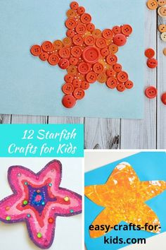 Starfish Crafts for Kids