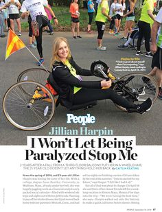 Jillian Harpin's Story Health Communication, Spinal Cord Injury, Health Care, Medical, Social Media, People, Medicine, Social Networks, People Illustration