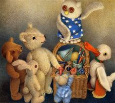 Jane Hissey - Book characters