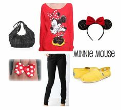 Minnie Mouse outfit perfect:) maybe some shorts for summer!