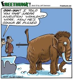 I guess in a way I was influenced by The Far Side when I drew this cartoon, only I know The Far Side would never have been allowed to post such a cartoon. Funny Boy, Wtf Funny, Funny Jokes, Hilarious Stuff, Hunting Jokes, Deer Hunting Humor, Hunting Stuff, Deer Hunting Season