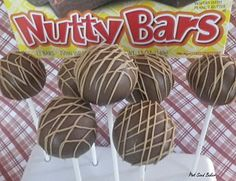 Nutty  bar cookie balls- thought I came up with this- guys not! Lol! ;-)