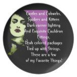 Vampire Dreams! Dinner Plate #halloween #happyhalloween #halloweenparty #halloweenmakeup #halloweencostume