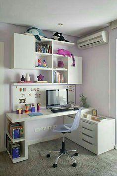 escritorio de niña
