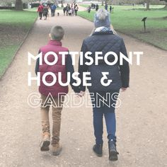 Using our National Trust Membership we've been exploring Mottisfont House and Gardens in Romsey.