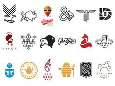 LL9 selected logos by Mike Bruner