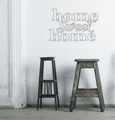 String-art pattern sheet text HOME SWEET HOME (67 x 44cm) available at spijkerpatroon.nl