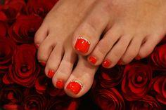 Red Pedicure, Nail Treatment, Nail Spa, Romantic, Romance Movies, Romantic Things, Romance