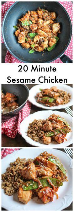 20 Minute Sesame Chi