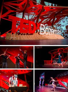 TEDx stage design from around the world.