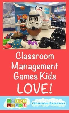 Five Classroom Management Games Kids LOVE for Pre-k, Kindergarten, and First Grade.