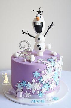 Sandy s cakes trendy cake birthday party disney frozen party cake birthday Frozen Themed Birthday Cake, Frozen Theme Cake, Frozen Themed Birthday Party, Disney Frozen Birthday, 3rd Birthday Cakes, Themed Cakes, 4th Birthday, Geek Birthday, Turtle Birthday