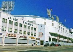 Tiger Stadium Photo Print, Detroit Baseball, 8 x 10 Michigan Photography, Sports Wall Art, Original Fine Art Detroit Tigers Game, Detroit Art, Detroit History, Detroit Sports, Detroit Tigers Baseball, Metro Detroit, Muskegon Michigan, Detroit Michigan, Detriot Tigers