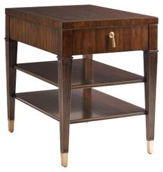 "Rochelle 20"" Side Table, Sephia"