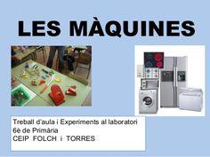 màquines i experiments T5, Inventions, Simple, Natural, Initials, Science, Tools, Au Natural